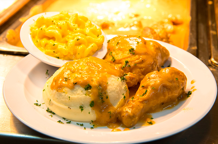 Smothered Fried Chicken