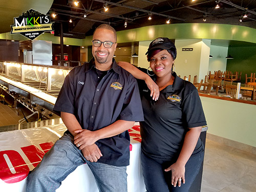Co-Owners of Mikki's Cafe & Catering Soul Food